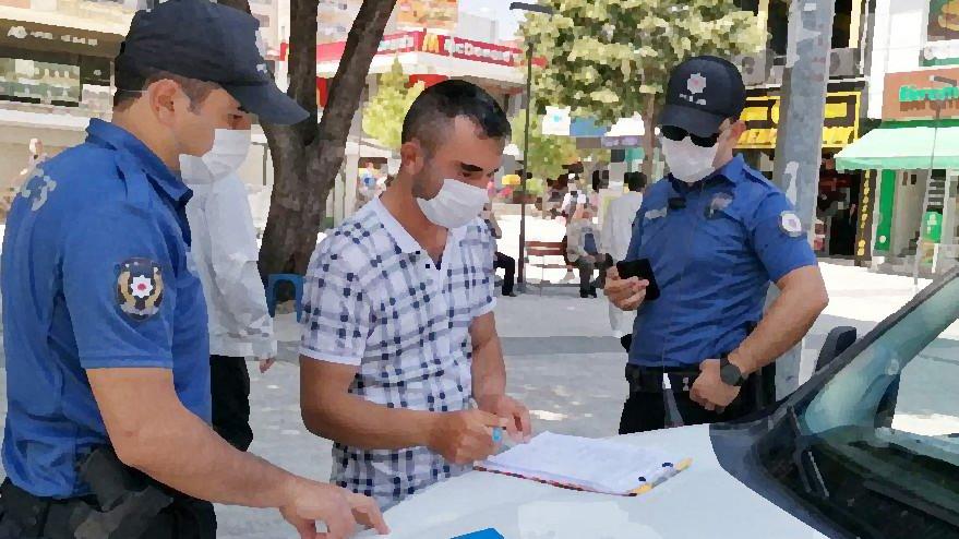 Sokağa çıkma yasağını ihlal eden vatandaşa kesilen ceza iptal edildi!