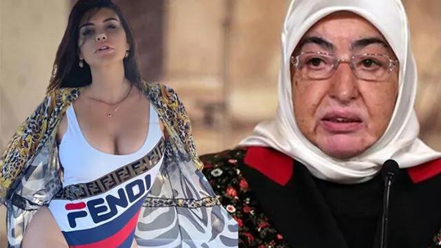 Ebru Polat'tan sert tepki: ''Bırak edepsizler kendileri utansın''