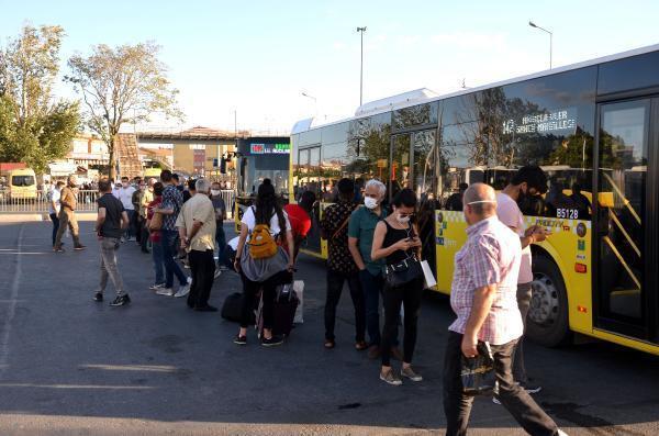 Minibüs şoförleri ve yolcuların ''ayakta yolcu'' tartışması
