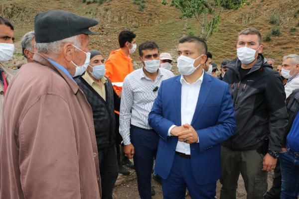 Van Erciş'te sel felaketi! 1 ayı telef oldu - Resim: 1