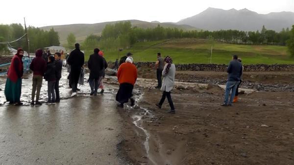 Van Erciş'te sel felaketi! 1 ayı telef oldu - Resim: 3