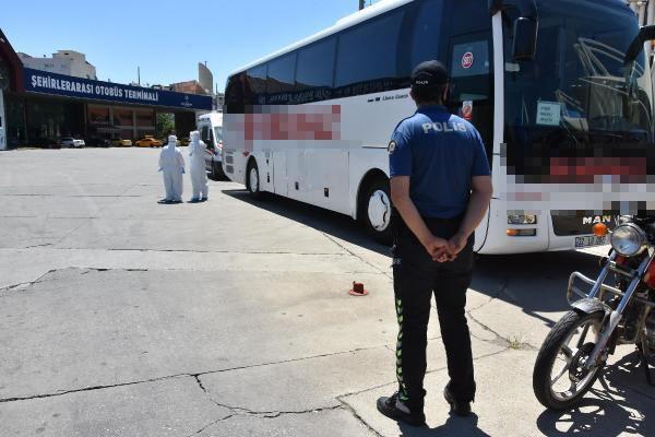 Otobüste korona paniği! Test yaptırmadan otobüse binince...