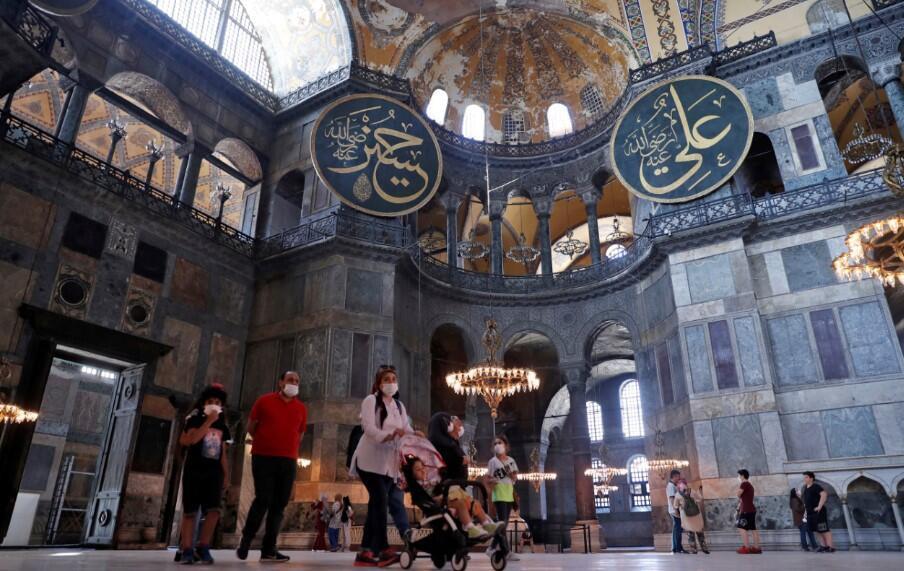 Türkiye'den UNESCO'ya ''Ayasofya'' yanıtı - Resim: 1