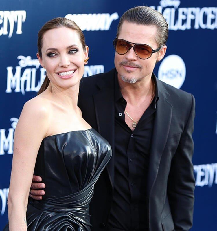 Brad Pitt ve Angelina Jolie arasında buzlar eridi