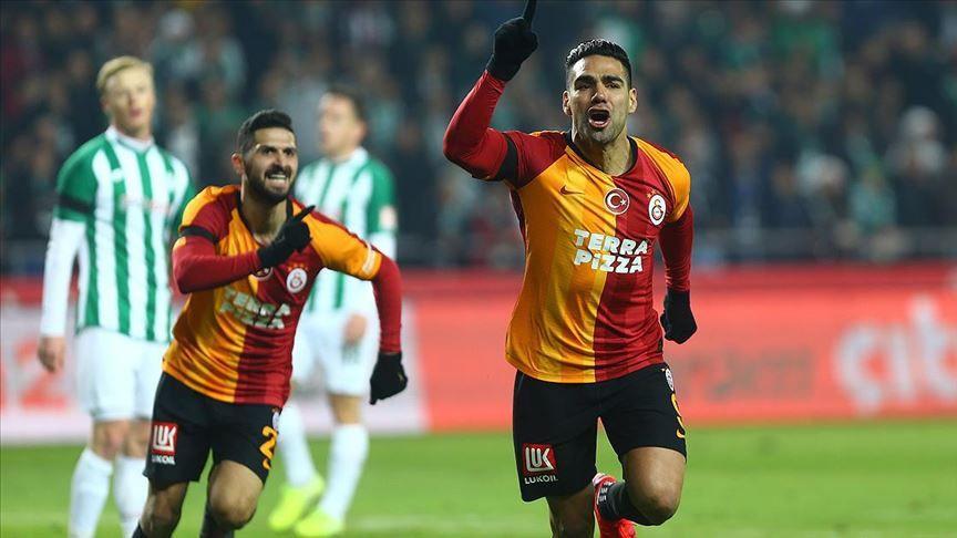 Galatasaray'da Falcao'nun bileti kesildi