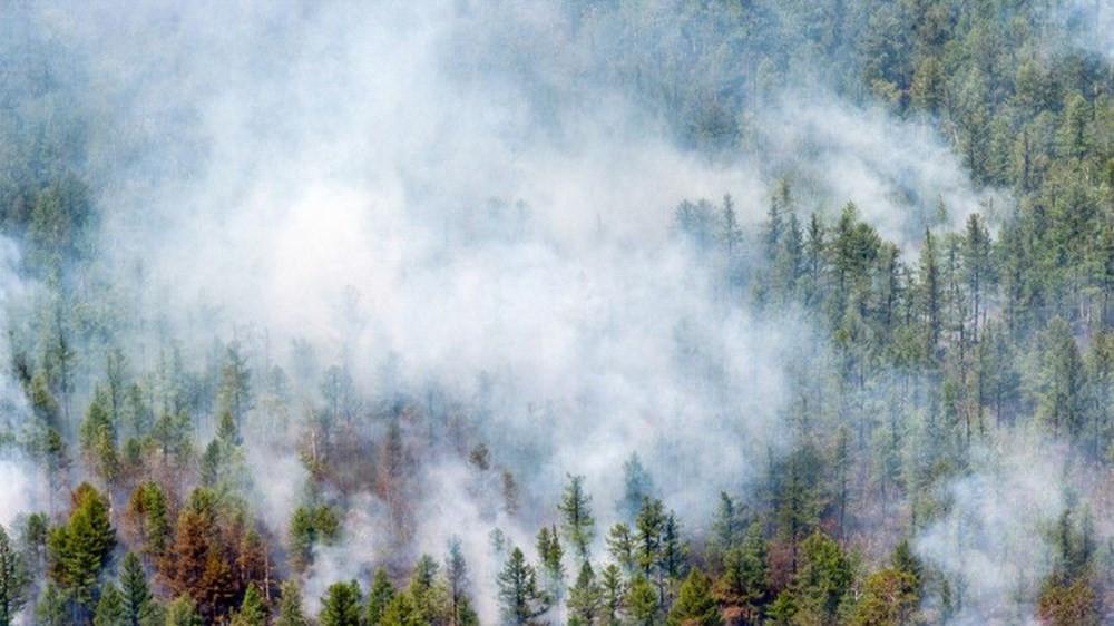 Sibirya alev alev yanıyor! Yapay yağmur bulutları oluşturuldu