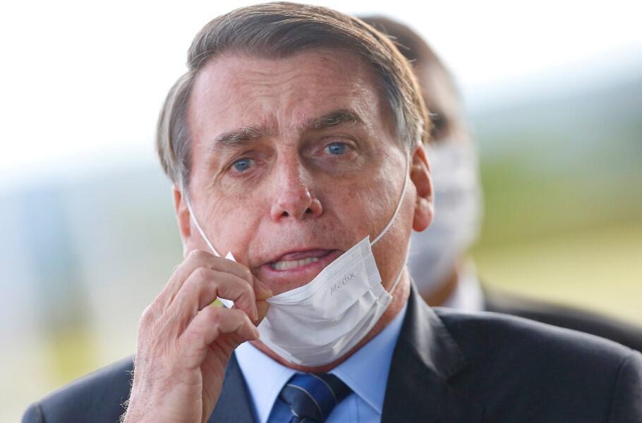 Koronavirüse yakalanan Devlet Başkanı günler sonra böyle görüntülendi