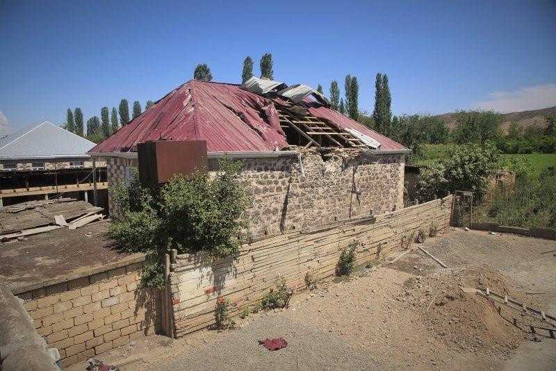 Ermenistan ordusundan alçak saldırı