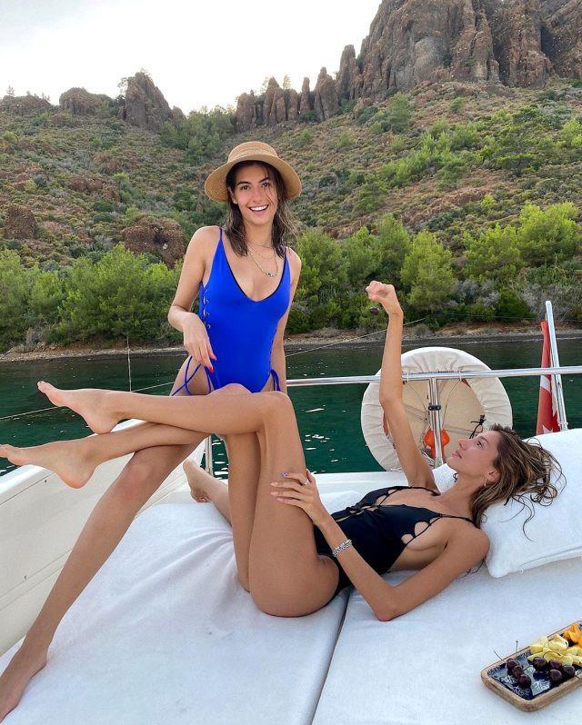 Eski Türkiye güzelleri tatilde