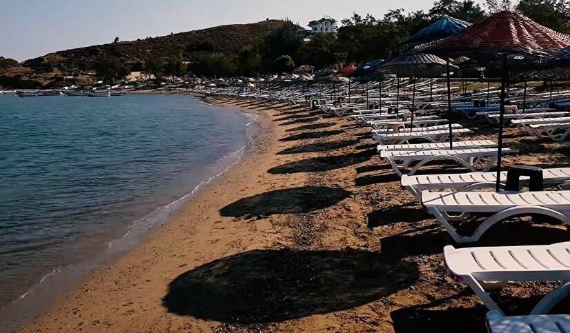 Muhtar halk plajını ihaleyle kiraladı: Şezlong ücretli oldu!
