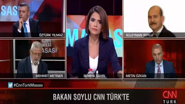 Süleyman Soylu ile Mehmet Metiner'in canlı yayında olaylı FETÖ tartışması