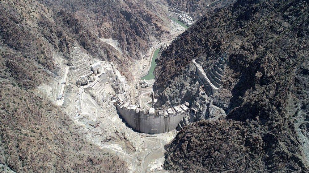 Yusufeli Barajı'nın yüzde 80'i tamam
