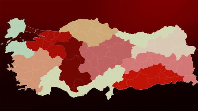Bakanlık, Covid-19 durum raporunu paylaştı! İşte bölge bölge vaka sayıları