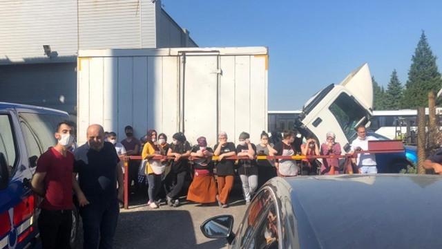 Fabrika'da icra şoku! Haczi işçiler engelledi