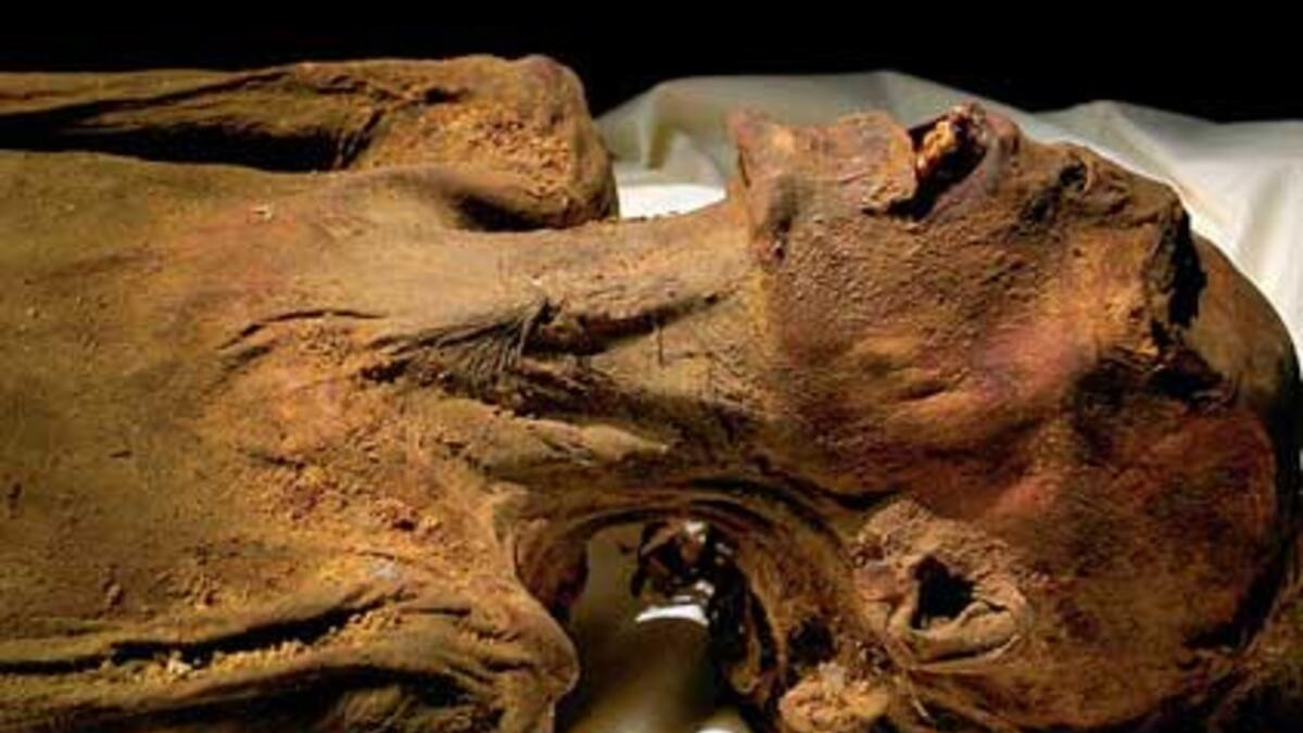 Mısır'ın çığlık atan mumyasının sırrı çözüldü