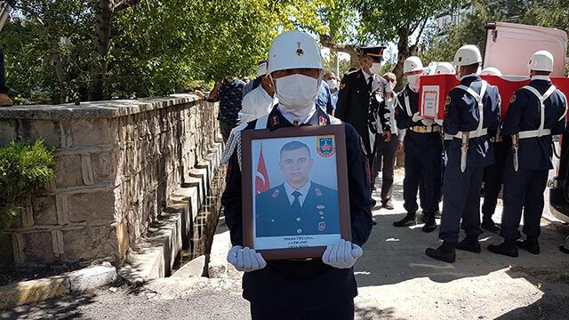 Mardin'de hayatını kaybeden Uzman Onbaşı Niğde'de toprağa verildi