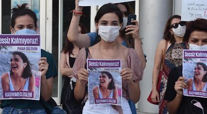 Pınar Gültekin protestosunda kadınlara sözlü taciz