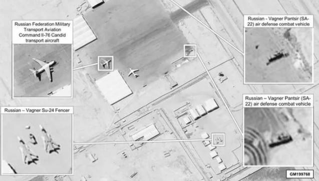 Rusya'nın hamlesi uydu fotoğrafları ile deşifre oldu