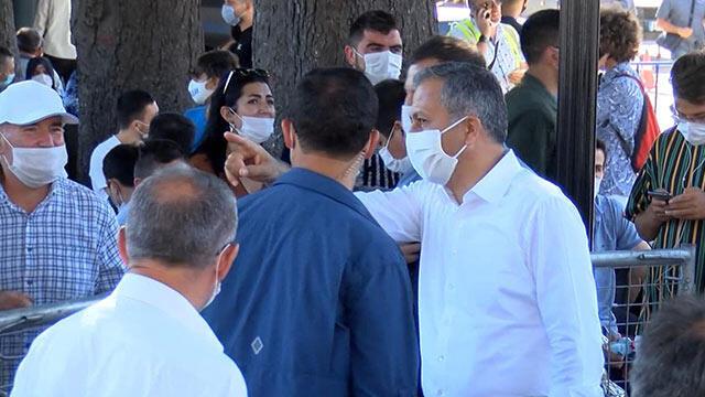 Vali Yerlikaya'dan Ayasofya Camii'ne ziyaret