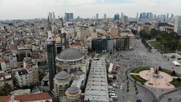 Taksim Camii inşaatında son durum... Şerefesi göründü - Resim: 3