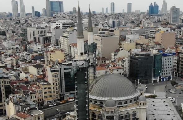 Taksim Camii inşaatında son durum... Şerefesi göründü - Resim: 4