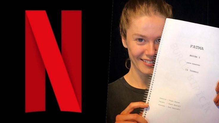 Burcu Biricik, ''Fatma'' olup Netflix'e geliyor