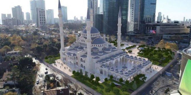 İstanbul'a 160 milyon TL'lik dev cami; temelini Erdoğan atacak