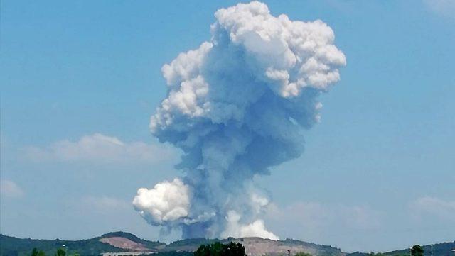 Sakarya'da havai fişek fabrikasında büyük patlama