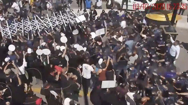 Ankara Emniyeti'nden polise saldırdığı iddia edilen avukatlar için açıklama
