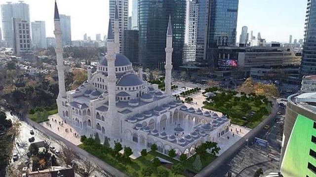 Bakan Albayrak: Barbaros Hayrettin Paşa bölgenin en büyük camisi olacak