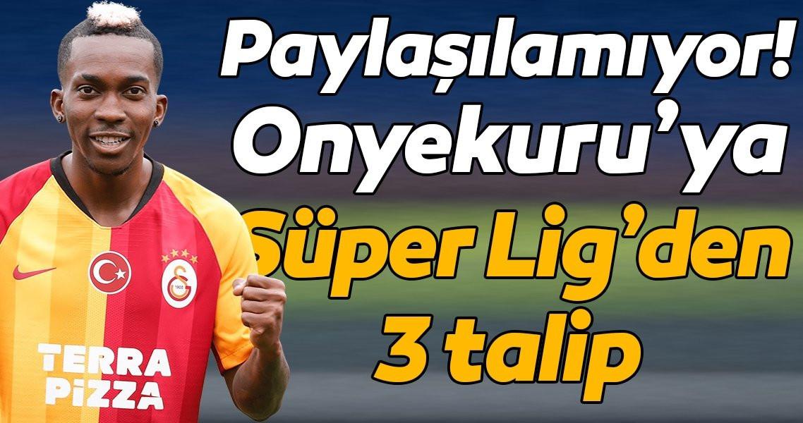 Onyekuru'ya Süper Lig'den 3 talip! - Resim: 1