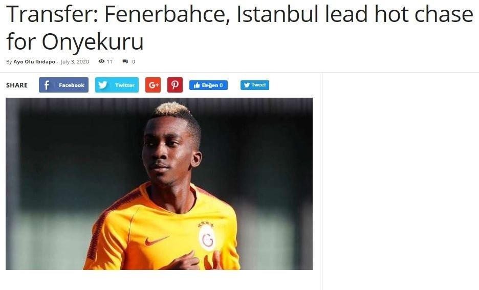 Onyekuru'ya Süper Lig'den 3 talip! - Resim: 3