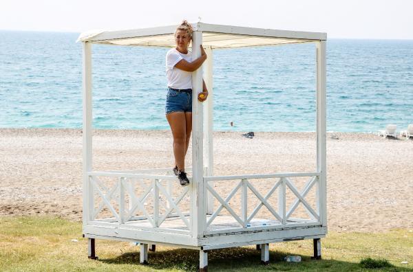 Antalya'nın ünlü sahilinde ''loca'' gerginliği! - Resim: 3