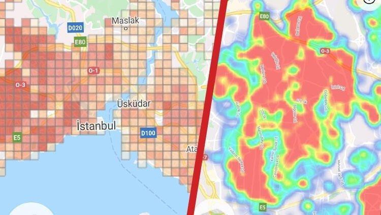 İşte İstanbul'un koronavirüs risk haritası