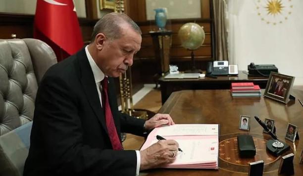 Erdoğan'dan yeni atama kararları
