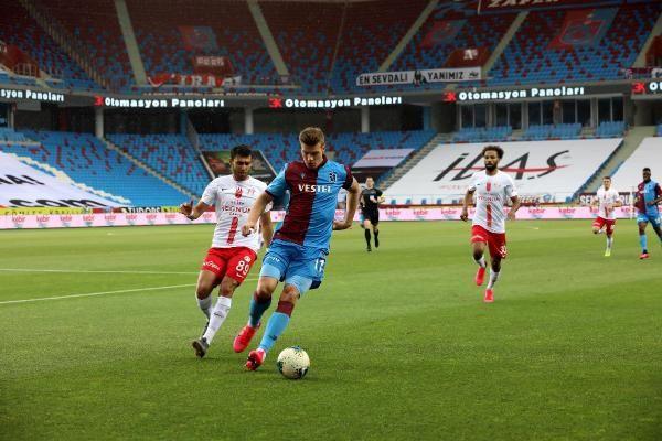 Trabzonspor'a şampiyonluk yolunda ağır darbe!