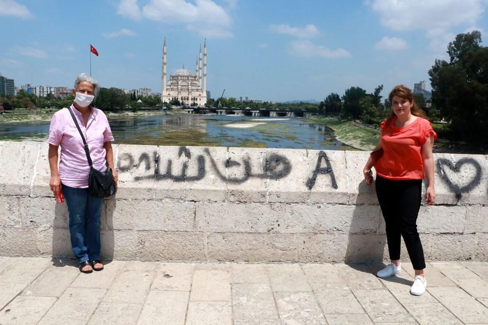 16 asırlık köprüde isyan ettiren görüntü