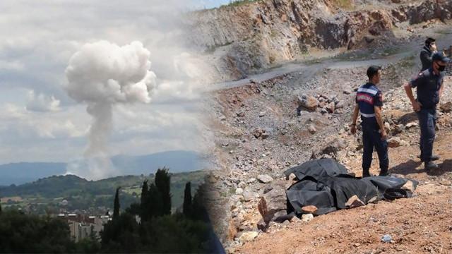 Sakarya'daki patlamadan ilk görüntüler
