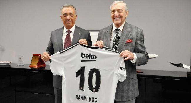 Rahmi Koç'tan Beşiktaş'a büyük bağış