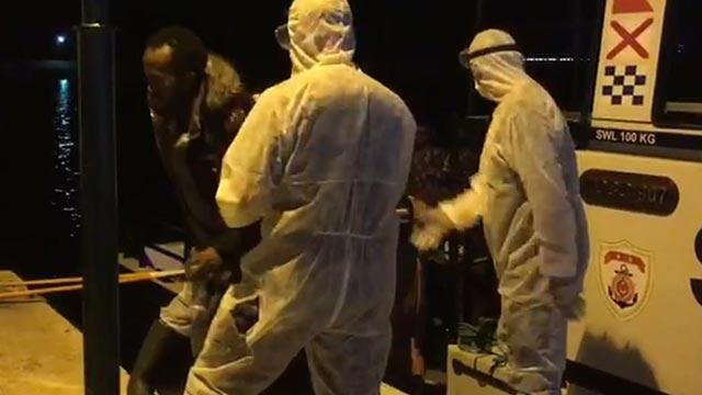 Yunanistan tarafından Türk kara sularına itilen 31 sığınmacı kurtarıldı