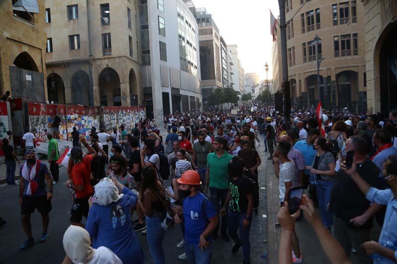 Lübnan'da protestolar son hız devam ediyor!