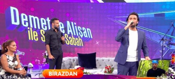 Star TV Alişan'ın sözlerini sansürledi
