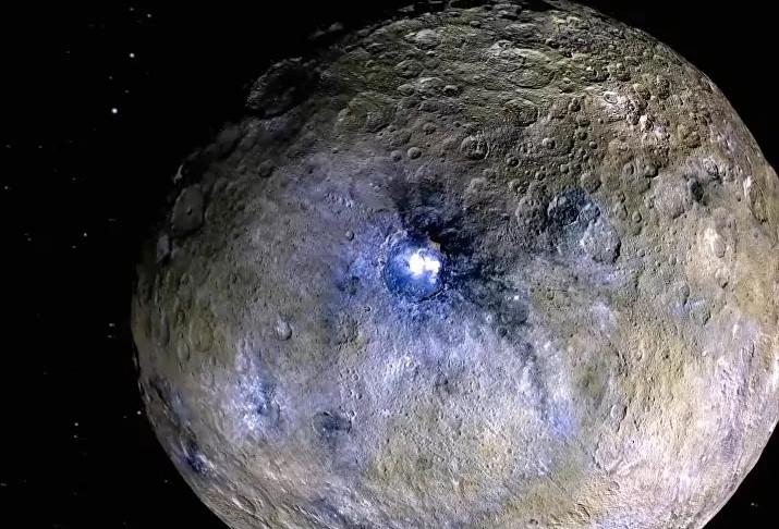 Bilim insanları uzayda tuzlu su buldu!