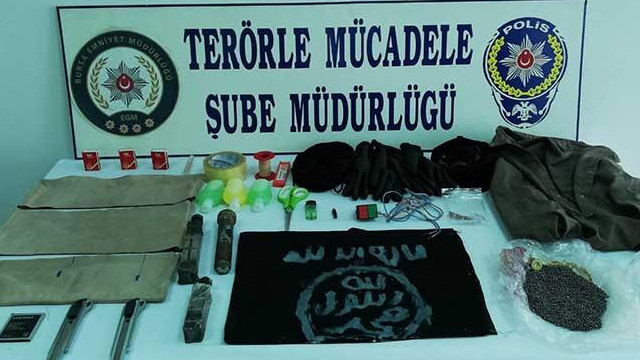 Bombalı eylem hazırlığındaki DEAŞ'li terörist yakalandı