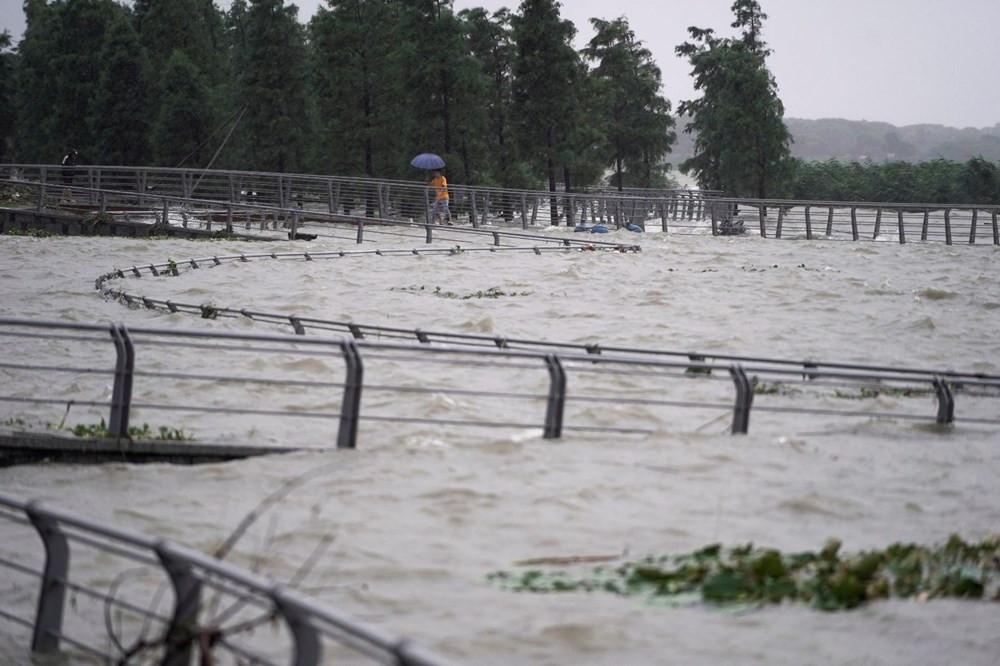 Çin'de sel bilançosu: 200'den fazla ölü, 25 milyar dolar zarar