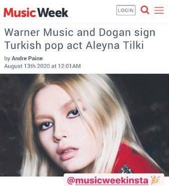 Aleyna Tilki hayallerine ilk adımı attı
