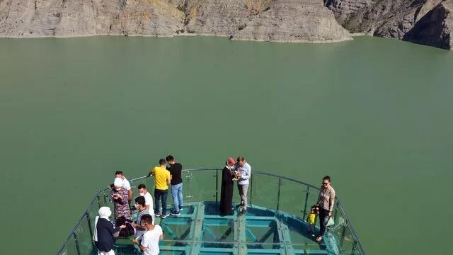 Türkiye'nin en büyük seyir terasına ziyaretçi akını