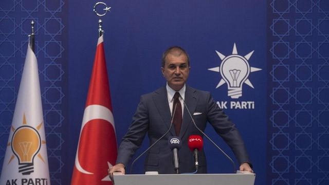 AK Parti Sözcüsü Çelik İsrail-BAE anlaşmasına tepki gösterdi
