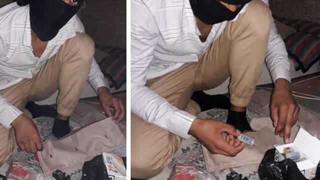 DEAŞ şüphelisi bombalı eylem hazırlığındayken yakalandı