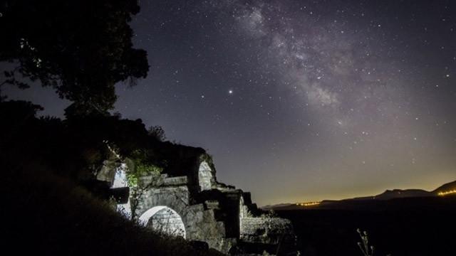 Manisa'nın antik kentlerinde yıldız şöleni yaşandı